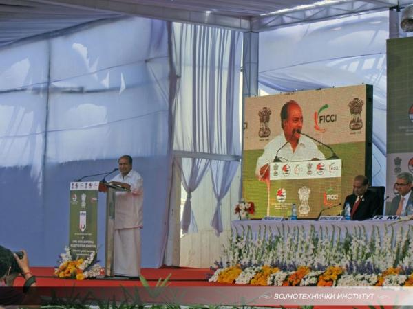 Делегација ВТИ и МО гости МО Индије