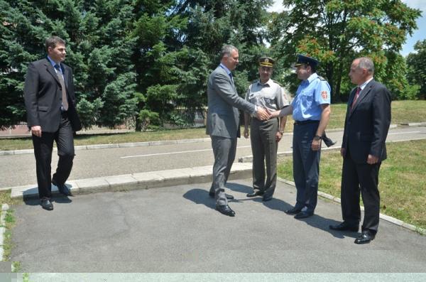 Посета министра одбране Републике Србије