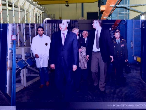 Министар одбране Украјине посетио Војнотехнички институт