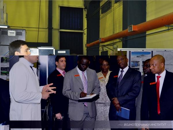 Делегација Националног колеџа одбране Републике Кеније посетила је Војнотехнички институт