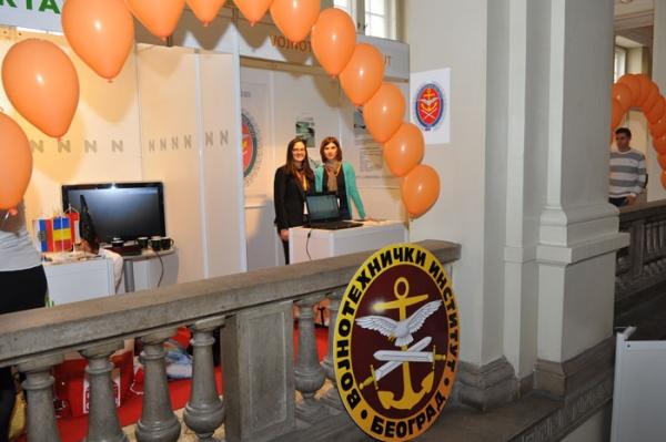 """Војнотехнички институт учествовао на сајму запошљавања """"Job Fair 12 – Креирај своју будућност!"""""""