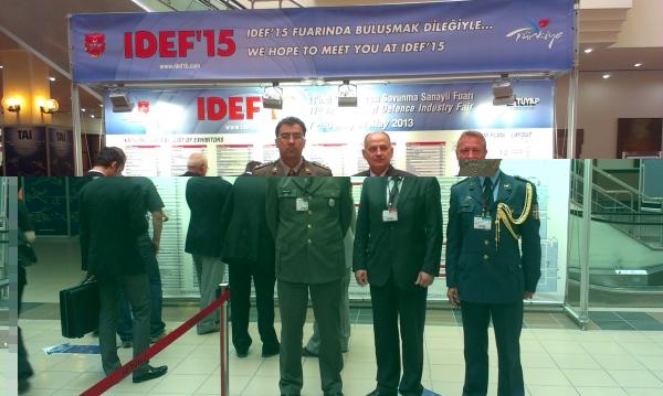 ВТИ на Међународном сајму војне индустрије IDEF 2013