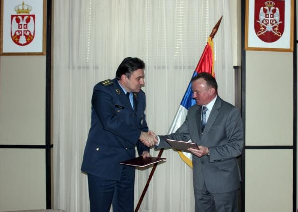 Војнотехнички институт и  Факултет организационих наука потписали Споразум о научно-техничкој сарадњи