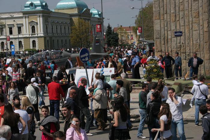 Учешће ВТИ на централној прослави Дана Војске у Крушевцу