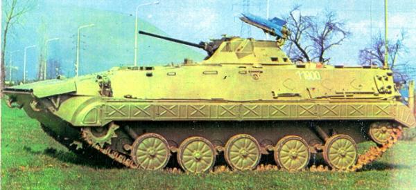 БОРБЕНО ВОЗИЛО ПЕШАДИЈЕ БВП М-80А