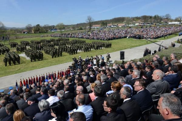Учешће ВТИ на централној прослави Дана Војске у Такову