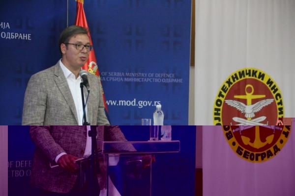 Председник Вучић у ВТИ